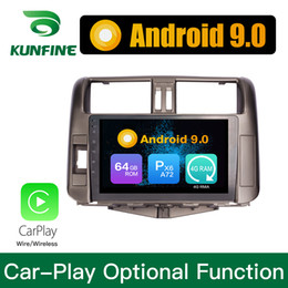 car gps for toyota prado Australia - Android 9.0 Ram 4G Rom 64G PX6 Cortex A72 Car DVD GPS Multimedia Player Car Stereo Sat Nav For Toyota LandCruiser Prado 2010-2013 Headunit