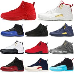 $enCountryForm.capitalKeyWord Australia - 2019 Game Royal FIBA 12 12s Basketball Men shoes Winterized Gym red Bulls black Gamma blue designer Athletic mens trainers sports sneakers