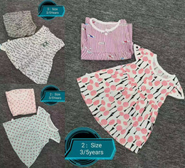 $enCountryForm.capitalKeyWord Australia - Cheap Children Designer Clothes Floral Girls Shorts Sleeveless Girl Outfits Kids Designer Baby Girls dresses beach Robe pour enfants 3-5T