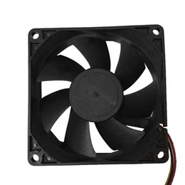 8cm cpu fan 2019 - CPU Cooler Master Quiet 8cm 80mm 80x80x25mm 12V Computer PC CPU Cooling Fan Silent Cooling Case Fan #PY5 discount 8cm cp