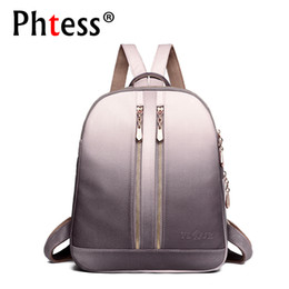 ladies backpacks for travelling NZ - 2019 Women Leather Backpacks For Girls Sac A Dos School Backpack Female Travel Shoulder Bagpack Ladies Casual Daypacks Mochilas Y19051405