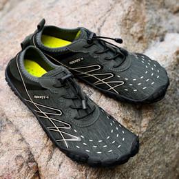 Beach Shoes 47 Australia - Summer Shoes Men Breathable Aqua Shoes Beach Sandals Adult Slippers Sport Upstream Shoes Women Diving Socks Tenis Masculin Size 35-47