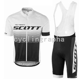 scott bike wear NZ - SCOTT 2019 Pro Team Cycling Jersey 9D Set MTB Bike Clothing Bicycle Wear Mens Short Maillot Culotte Suit