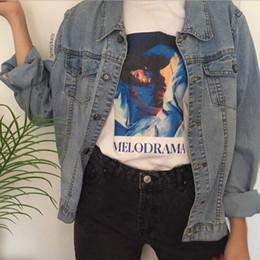 $enCountryForm.capitalKeyWord Australia - Hahayule Lorde Album Cover Melodrama Painting T-shirt Unisex Pop Music Graphic Tee Grunge Aesthetic Street Style Short Sleeves Y19042101