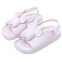 $enCountryForm.capitalKeyWord Australia - Melissa Twins Mini Mouse Head 2018 New Summer Three-dimensional Shoes New Jelly Shoe Sandals Girl Non-slip Kids Sandal Toddler Y19051403