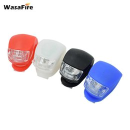 $enCountryForm.capitalKeyWord UK - WasaFire Mini Bike Rear Tail Helmet Bicycle Red Flash Lights Waterproof Silicone Safety Rear Wheel Caution Cycling bike light