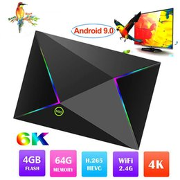Android Tv Box Wifi Hd Australia - Allwinner H6 Android 9.0 TV Box 6K Ultral HD Streaming Media Player 4GB 32GB 64GB Quad Core Mini PC 2.4G Wifi M9S Z8 Set Top Boxes USB 3.0