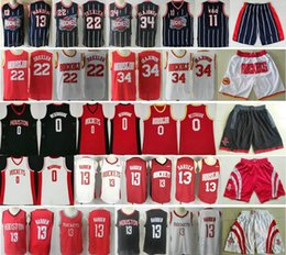 $enCountryForm.capitalKeyWord Australia - 2019 New Houston James 13 Harden Rockets Jersey Russell 0 Westbrook Red White Black Clyde 22 Drexler Hakeem 34 Olajuwon Basketball Jerseys