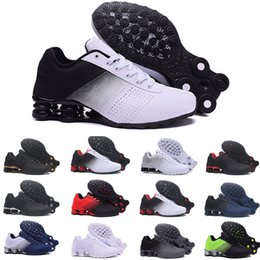 12c73e2cef495f Newest Shox Deliver 809 Men Air Running Shoes Drop Shipping Wholesale  Famous DELIVER OZ NZ Mens Athletic Sneakers Sports Running Shoes 40-46