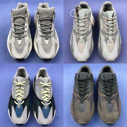 lowest price 4e899 6c75e Adidas Yeezy Boost 700 V2 Mejor calidad malva 700 zapatos para hombre  zapatos de diseñador wave runner 700s hombres mujeres corriendo zapatillas  deportivas ...