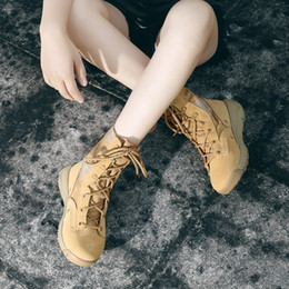 $enCountryForm.capitalKeyWord Australia - Hot sale- Brand New Couple Models Martin Boots Men's Autumn Leather Desert Boots High Tooling Cowboy boots, Free Shipping