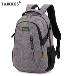 387e09ab47f Red Computer Backpack NZ - 2019 New Fashion Men's Backpack Bag Male  Polyester Laptop Backpack Computer