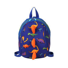 $enCountryForm.capitalKeyWord Australia - Fashion New Manufacturers wholesale small cross-border dinosaur boys and girls shoulder backpack Baby Kindergart well selling Backpack Style