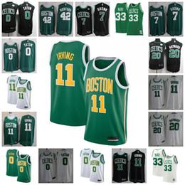 07283613823 Boston celtics BasketBall jerseys online shopping - 2019 Hot Kyrie Irving  Celtics Jersey Jaylen Brown Jayson