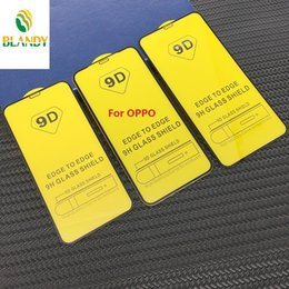 screen protector oppo Canada - 9D Full Cover Tempered Glass Screen Protector for OPPO AX7 AX5 C1 A7 A3 for VIVO Y95 Y93 Y91