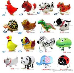 Pet Xmas Gifts Australia - Set Of 100 pcs Walking Pet Balloon Child's Toy Walking Animal Balloons Children Toys Xmas Gift Party Decoration