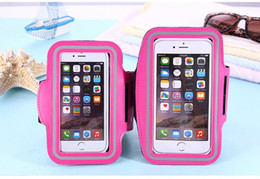 Phone case for gym online shopping - Arm package WaterProof Sport Gym Running Armband Soft Pouch Case Cover For Smart phone Arm Bag Band