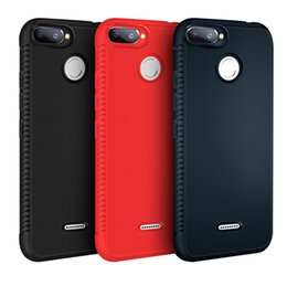 China Heat Dissipation Honeycomb Soft TPU Shockproof Case For RedMi Note 4 4X 4A 5A Prime 5 Plus S2 Y2 6 Pro A2 Lite 6A 7 XiaoMi 6X Pocophone F1 suppliers