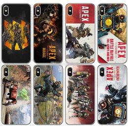 c3708d8b4 For iPhone X 6 6S 8 7plus 5S XS Max XR Samsung Galaxy Phone Case Soft TPU  Apex Legends Painted iphone Case Cover