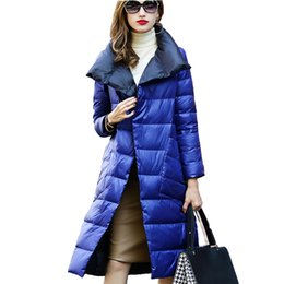$enCountryForm.capitalKeyWord Australia - Women White Duck Down Jacket Autumn Winter Long Two Side Wear Parkas Outwear Female Warm Ultra Light Down Coat A125