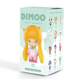 girls doll toy package Australia - The POPMART Bubble Matt Dimoo Stray Animal Series Of Blind Box Garage Kits Toys Fashion Dolls