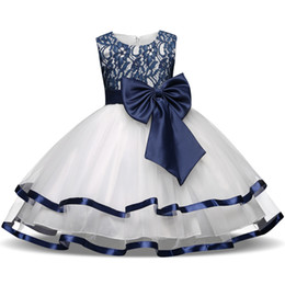 $enCountryForm.capitalKeyWord Australia - Formal Teenage Girls Party Dresses Blue Prom Dress Baby Girl Clothes Kids Girl Birthday Outfit Costume Children Graduation Gown Y19061801