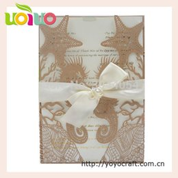 $enCountryForm.capitalKeyWord UK - top sell beach wedding invitation cards unique starfish and Hippocampus animal 3d invitation cards with factory price