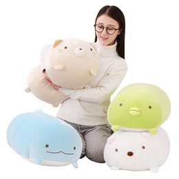 Toys japanese online shopping - 1pc cm San X Corner Bio Pillow Japanese Animation Sumikko Gurashi Plush Toy down cotton Cartoon Kids Girls Valentine Gifts