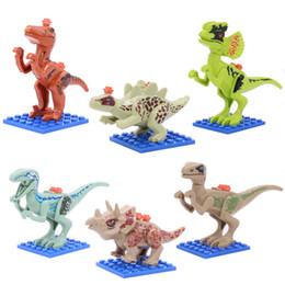 $enCountryForm.capitalKeyWord Australia - Dinosaur Jurassic Tyrannosaurus rex series children's splicing and assembling toys