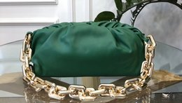 black white gold clutch bag Canada - 2020 new arrival 7stars amazing style italy real leather luxury designer women clutch bags wholesale price green color gold chain handbag
