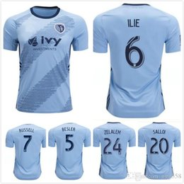 2xl soccer jerseys 2019 - 2019 2020 Sporting Kansas City soccer Jersey ZUSI RUSSELL ILIE ZUSI SALLOI 19 20 MLS Jerseys Football shirt S-2XL cheap