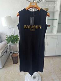 Venta al por mayor de Balmain para mujer diseñador T Shirts mujeres de calidad superior camisas de la manera mujeres de la marca diseñador del vestido de Balmain ropa de las mujeres del tamaño S-L