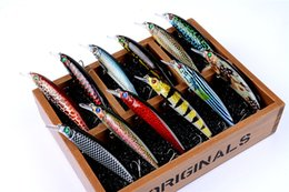 Painting Fishing Lures Australia - High Quanlity Paint Realistic Fish Minnow Laser Crankbaits 13.4g 11cm BASS Fishing lure Short Tongue jerkbait
