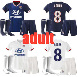 Thailand Shirts Australia - TOP Thailand Maillot de foot Olympique Lyonnais adult soccer jersey 2019 2020 Lyon football shirt TRAORE MEMPHIS FEKIR 19 20 kit uniforms