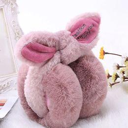 $enCountryForm.capitalKeyWord UK - Wholesale- Adjustable!!!Elegant Rabbit Fur Winter Earmuffs For Women Warm Earmuffs Ear Warmers Gifts For Girls Cover Ears Fashion Brand