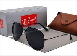 $enCountryForm.capitalKeyWord Australia - Brand Designer Polarized Sunglasses For Men Women High Quality Pilot Sun Glasses UV400 polaroid lens with Retail case and box