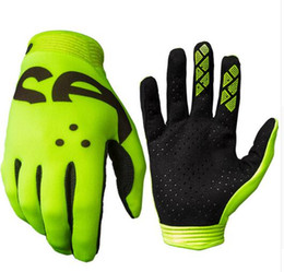 Black Yellow Bicycle Gloves Australia - ZERO CROSSOVER motocross GLOVE motorcycle racing gloves bike bicycle cycling sports gloves C