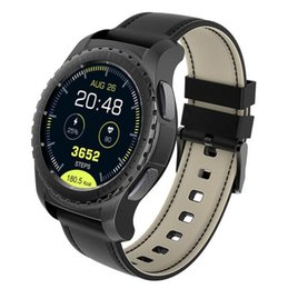 Bluetooth Smart Watch Sim Australia - Wholesale Bluetooth Smart Watch KW28 Support SIM TF Card Men Smartwatch Fitness Tracker Heart Rate Clock For Android IOS Phone
