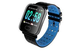 $enCountryForm.capitalKeyWord UK - A6 Android Smart Watch Men Blood Pressure Alarm Clock Heart Rate Monitor IOS Smartwatch Watch Men Fitness Tracker Watch