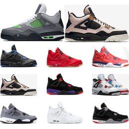 $enCountryForm.capitalKeyWord Australia - 2020 Airretrojordan basketabll shoes 4s NEON SILT RED What The WINGS Cool Grey BLACK CAT mens sports sneakers
