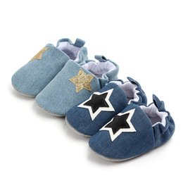 $enCountryForm.capitalKeyWord Australia - Soft Sole Booties Cotton Baby Shoes for Newborn Girls and Boys First Walkers Childish Slider Sizes 11, 12,13 Sneaker Prewalker Shoes 0-18 M