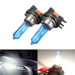 $enCountryForm.capitalKeyWord Australia - Pair H15 Xenon Bulb 12V 55W HeadLight Lamp DRL For HID 6000K Blue Glass Car Light Super White For AUDI VW GOLF