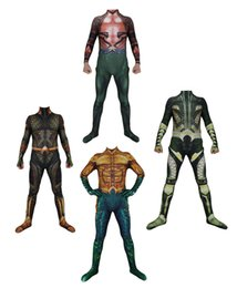 movie quality cosplay costumes Australia - Adult Men Kids Boy Movie Aquaman Cosplay Costume Lycar Spandex High Quality Superhero Zentai Party Bodysuit Catsuit Jumpsuit