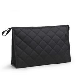 $enCountryForm.capitalKeyWord UK - Women Cosmetic Bag Functional Diamond Lattice Travel Makeup Case Zipper Make Up Bags Organizer Storage Pouch Toiletry Wash