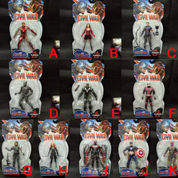 $enCountryForm.capitalKeyWord NZ - 17CM The Avengers Infinity War Iron Spider Figure Spiderman Panther Iron Man Action Figure Toy Wholesale