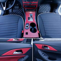 $enCountryForm.capitalKeyWord Australia - For Infiniti Q30 QX30 2015-2018 Interior Central Control Panel Door Handle Carbon Fiber Stickers Decals Car styling Accessorie