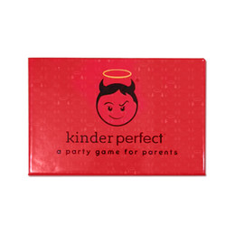 Wholesale kinder game for sale – custom KinderPerfect The Hilarious Parents Party Card Game Kinder Perfect is the new adult party card game for awesome parents inspired