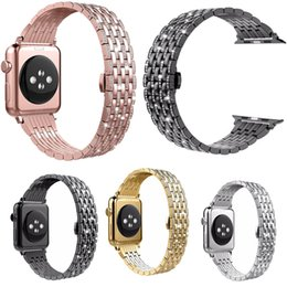 rhinestone bands for watch UK - Replacement Bands for Apple Watch Series 4 3 2 1 Crystal Rhinestone Diamond Luxury Classic Strap for IWatch 42 38 44 40mm
