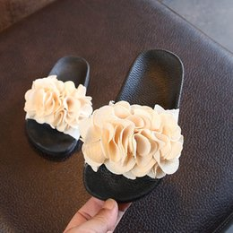Girls Sandal Australia - Fashion Summer floral Girls Slippers children shoes girls shoes Chaussures pour enfants kids designer shoes Girls Beach Sandals A4547