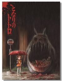 Totoro Art Australia - My Neighbor Totoro Tonari no Miyazaki Hayao Art Silk Poster 24x36inch 24x43inch